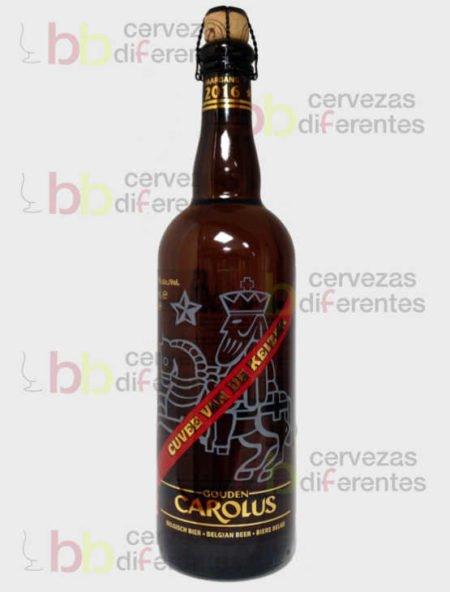 Carolus Cuvee Van De Keizer roja_cervezas_diferentes