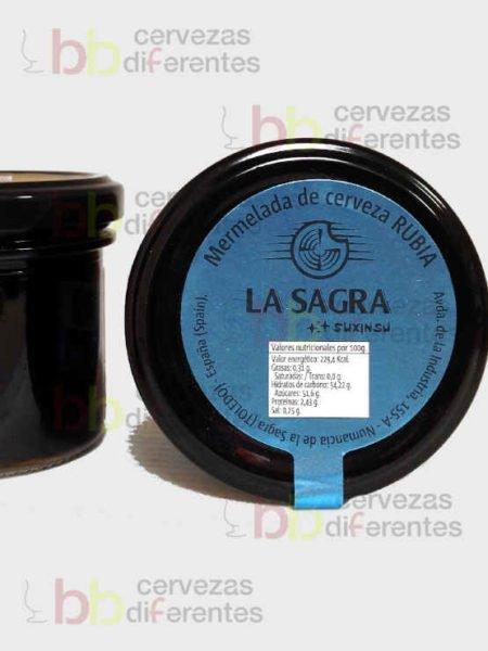 La Sagra_Mermelada de cerveza Suxinsu artesanal_3_cervezas diferentes