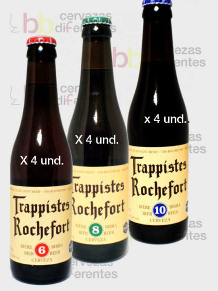 Rochefort_pack_clasico_cervezas_diferentes