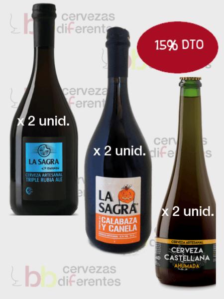 La Sagra_2 Suxinsu 2 calabaza 2 castellana CERVEZAS DIFERENTES