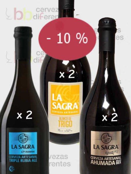 La Sagra_6 botellas CERVEZAS DIFERENTES