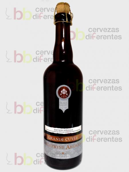Trois Mousquetaires Barleywine Americane_canada_cervezas diferentes