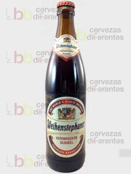 Weihenstephaner Hefeweisbier Dunkel_cervezas_diferentes