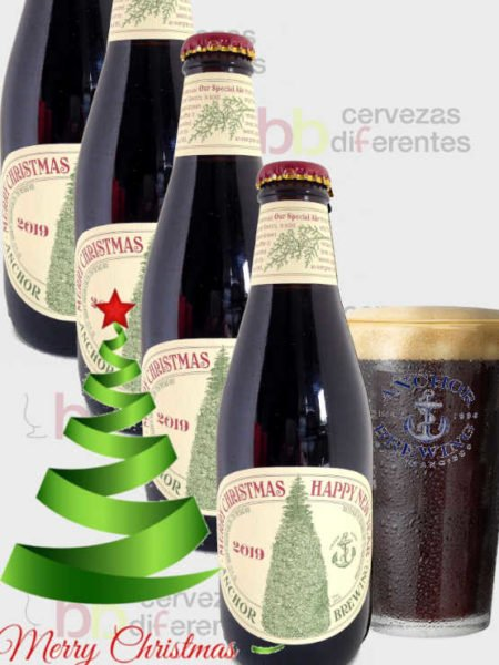 Anchor Christmas Ale_2019 pack 4 y vaso