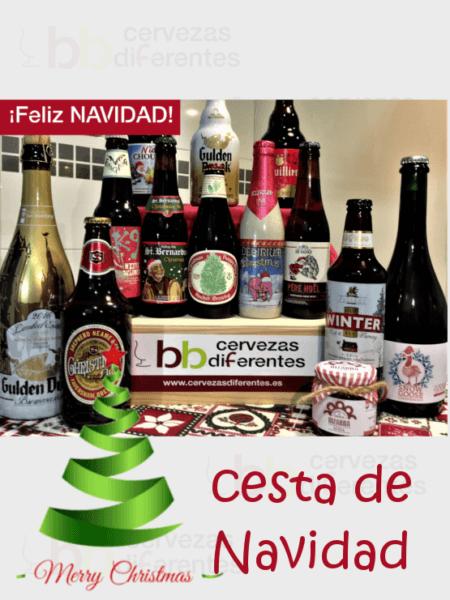 CESTA DE NAVIDAD cervezasdiferentes 22 Diciembre