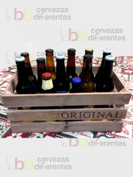 Caja madera 12 botellas_regala cervezas diferentes