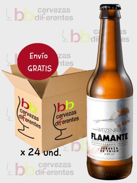 Flamante_cerveza artesana cuenca_trigo weizenbier_caja 24 und_cervezas diferentes