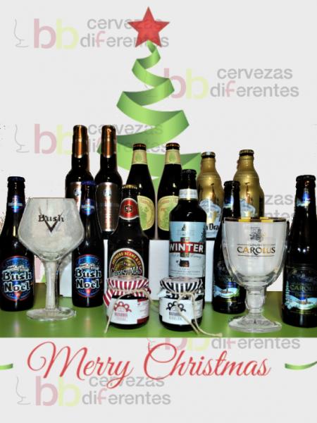Lote Navidad 2017con copas_regala cervezas diferentes
