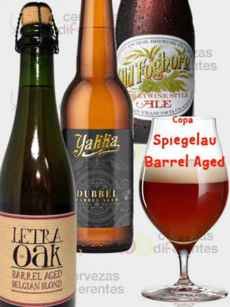 Lote envejecidas cervezas difererentes