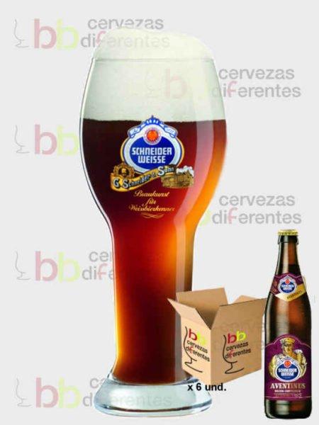 Schneider Weisse Tap 6 _lote 6 y vaso 1_cervezas diferentes