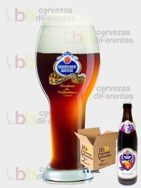 Schneider Weisse_vaso_aventinus_pack_cervezas_diferentes