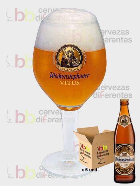 Weihenstephaner copa Vitus_pack_cervezas_diferentes