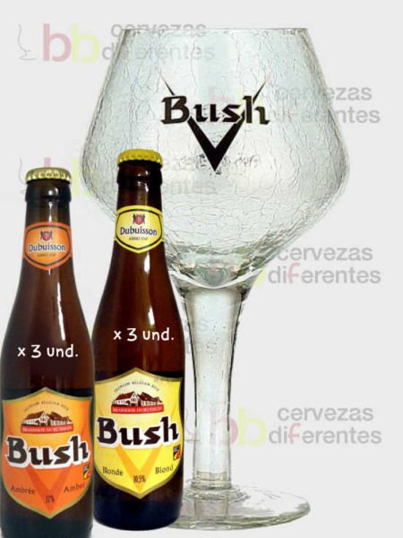 Bush_pack_copa_cervezas_diferentes