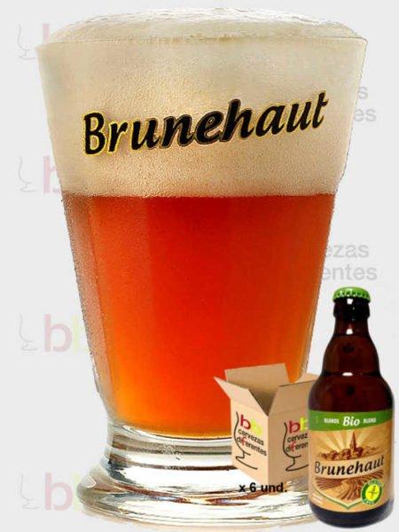 Brunehaut vaso pack cervezas diferentes