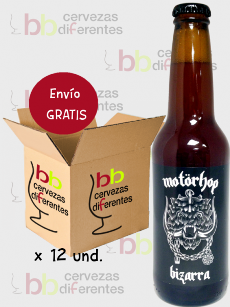 Bizarra Motorhop_cerveza artesana salamanca_lote pack 12 und_cervezas di