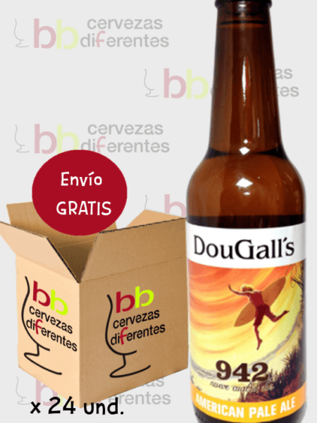 Dougall's 942 pack 24 botellas cervezas diferentes