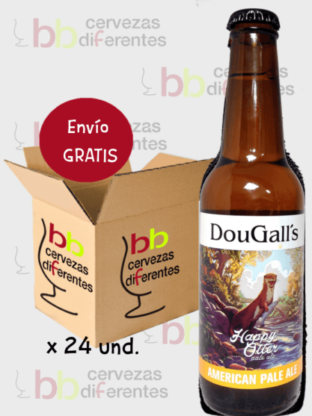 Dougall's Happy Otter_artesana cantabria_lote pack 24 und_19 05_cervezas diferentes