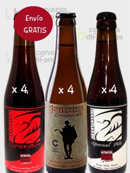 ENIGMA pack 12 botellas envio gratis cervezas diferentes