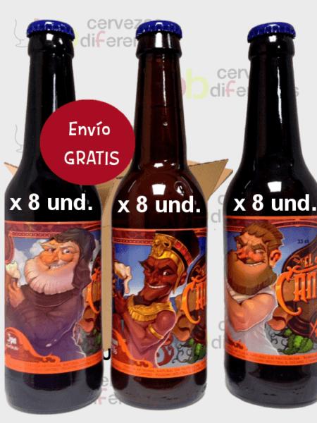 el-cantero_cerveza-artesana_lote-pack-24-botellas_envio-sin-gastos_cervezas-diferentes