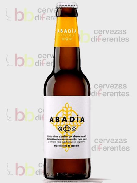 Abadía española Lager Ahumada_cerveza artesana valencia_ cervezas diferentes