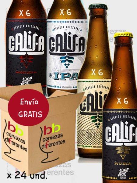 Califa_pack mixto envio gratis cervezas_diferentes
