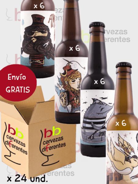 Cervezas 69_cerveza artesana albacete_ lote pack variado 24 und