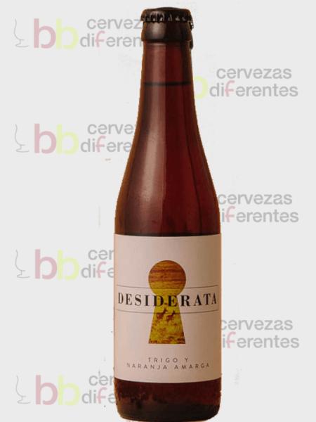 Desiderata_cerveza artesana Sevilla_Trigo y Naranja amarga_cervezas diferentes
