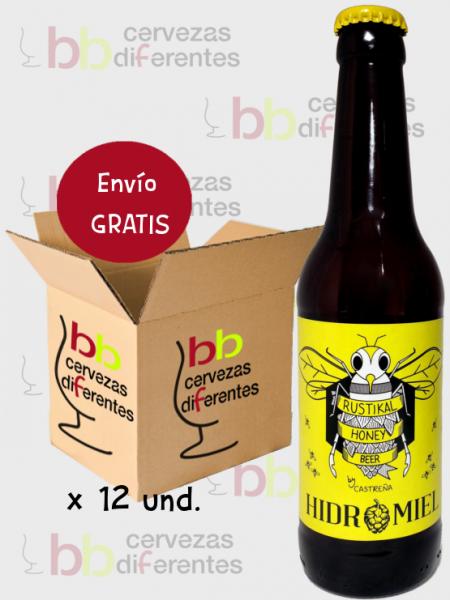 Castreña_Hidromiel_lote pack 12 und_cervezas diferentes