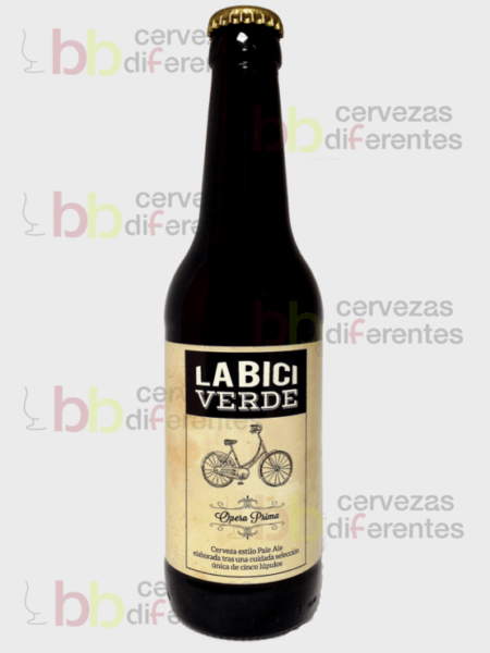 La bici verde artesana_abadia de aribayos_pale ale_cervezas diferentes