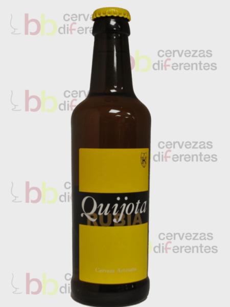 Quijota rubia cervezas diferentes