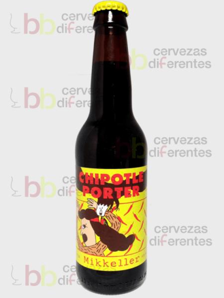 Mikkeller chipotle porter_botella 1_cervezas diferentes