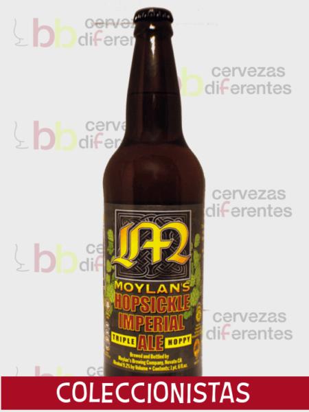Moylans-hopsickle-Iimperial-Ale-Triple-CERVEZAS DIFERENTES COLECCIONISTAS