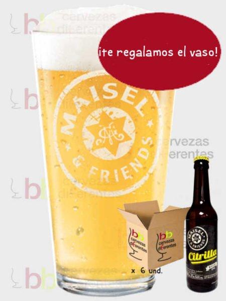 MAISEL & FRIENDS Citrilla vaso pack cervezas diferentes