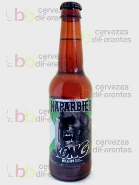 Naparbier Kong Wheat IPA_artesana_cervezas diferentes