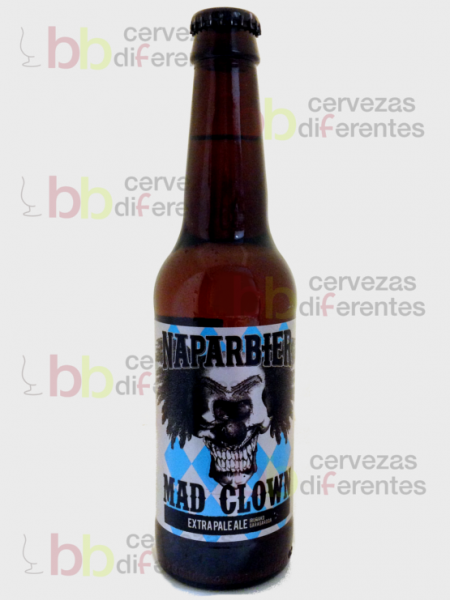 Naparbier Mad Clown_artesana_cervezas diferentes