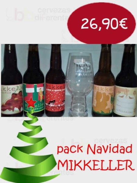 Pack Mikkeller Navidad cervezas diferentes