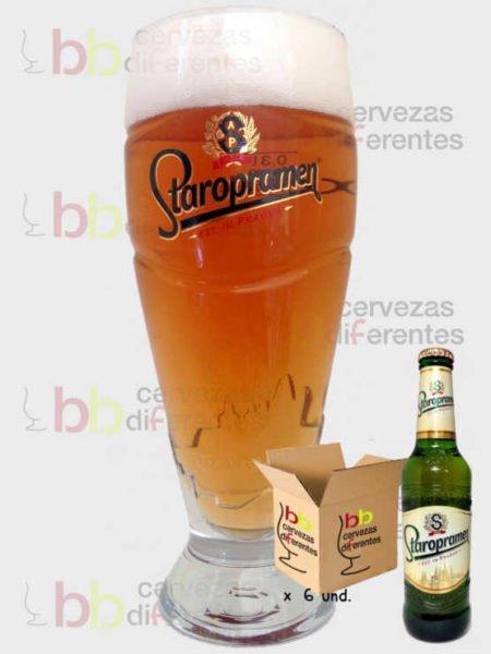 Staropramen_republica_checa_vaso_pack_cervezas_diferentes