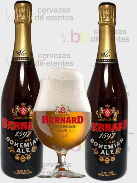 Bernard bohemian ale 2x75 y copa_cervezas diferentes