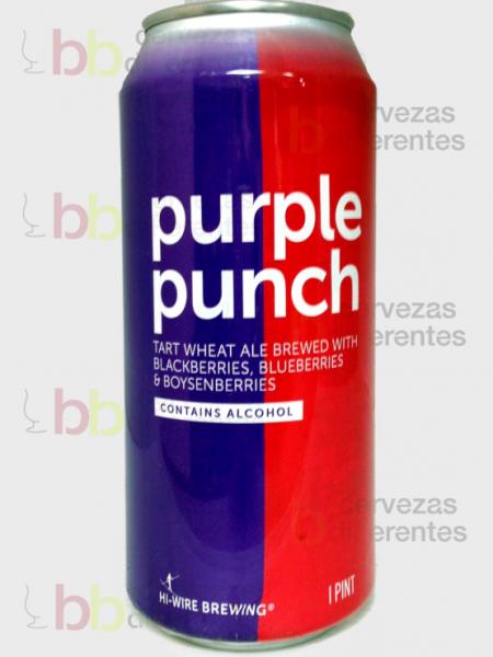 Hi Wire Purple punch_cervezas diferentes