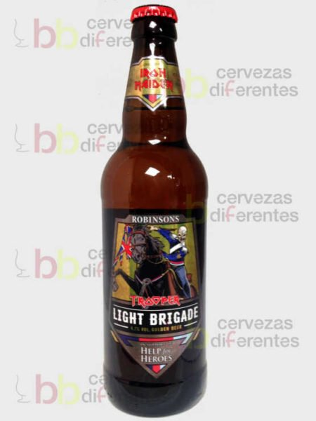 Trooper Iron Maiden The Light Brigade_inglesa_cervezas_diferentes
