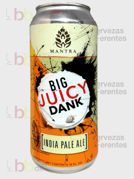 Mantra Big Juicy Dank IPA_cervezas diferentes
