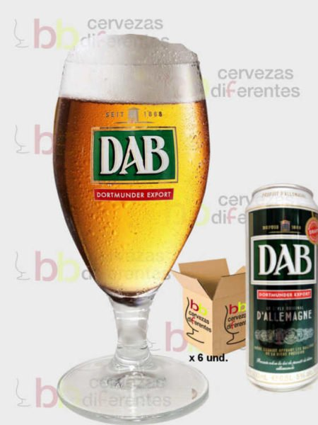 dab beer_pack 6 copas