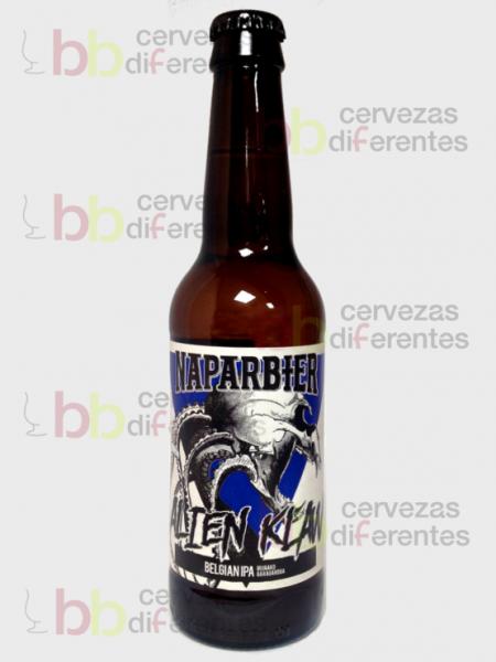 Naparbier_Alien Klaw_IPA_artesana_cervezas diferentes