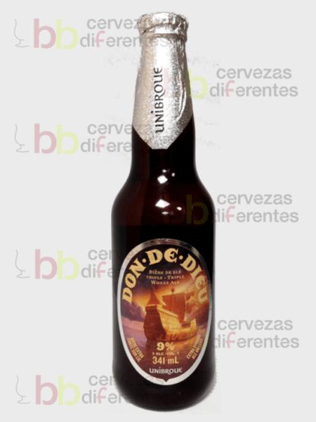 Unibroue Don de dieu 18 06_ cervezas diferentes