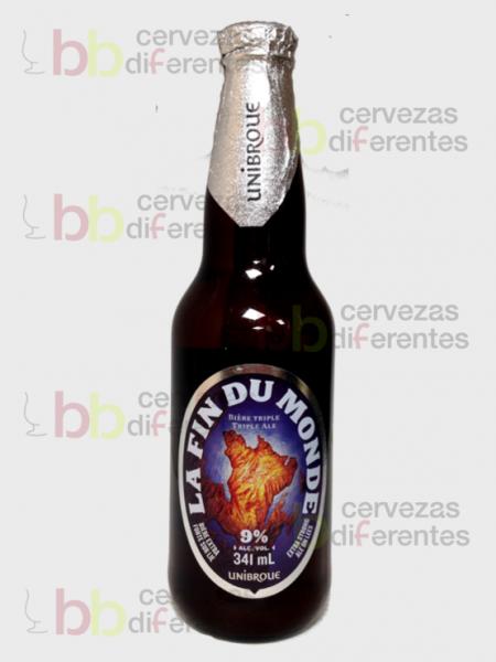 Unibroue La fin du monde 2018 06 27 _ cervezas diferentes
