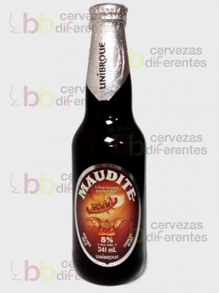 Unibroue Maudite 18 06 _ cervezas diferentes