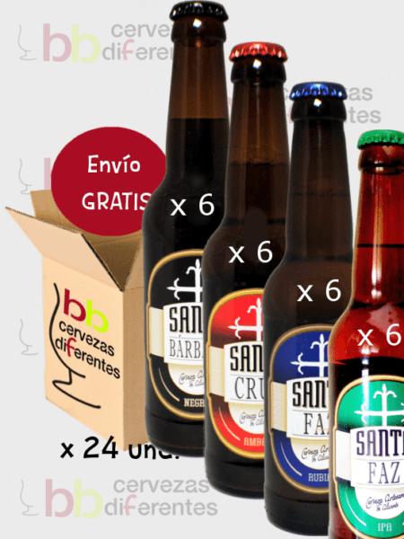Santa Faz_pack_cervezas diferentes