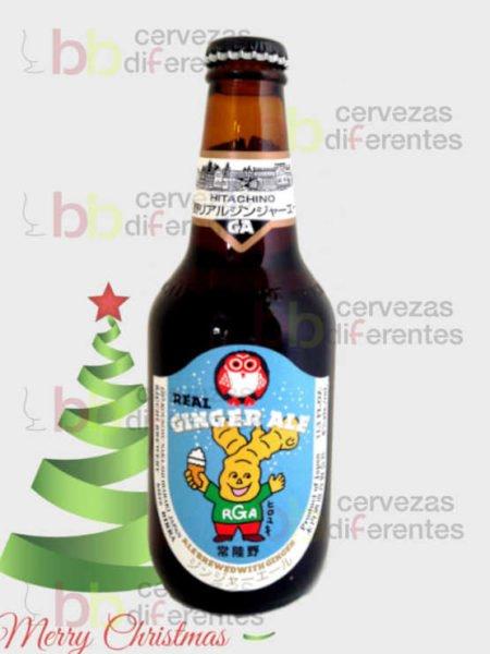 HITACHINO Ginger Ale_navidad_cervezas_diferentes_