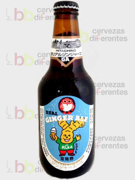 Hitachino Nest Real Ginger Ale_japon_cervezas_diferentes