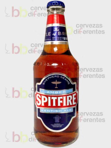 Shepherd Neame Spitfire Amber Kentish Ale_Inglaterra_cervezas_diferentes